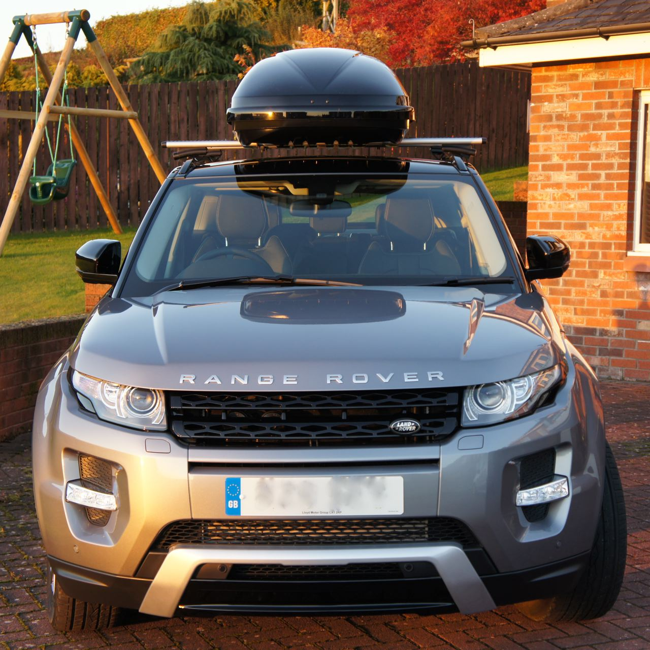 2013 Evoque At US Land Rover Dealership