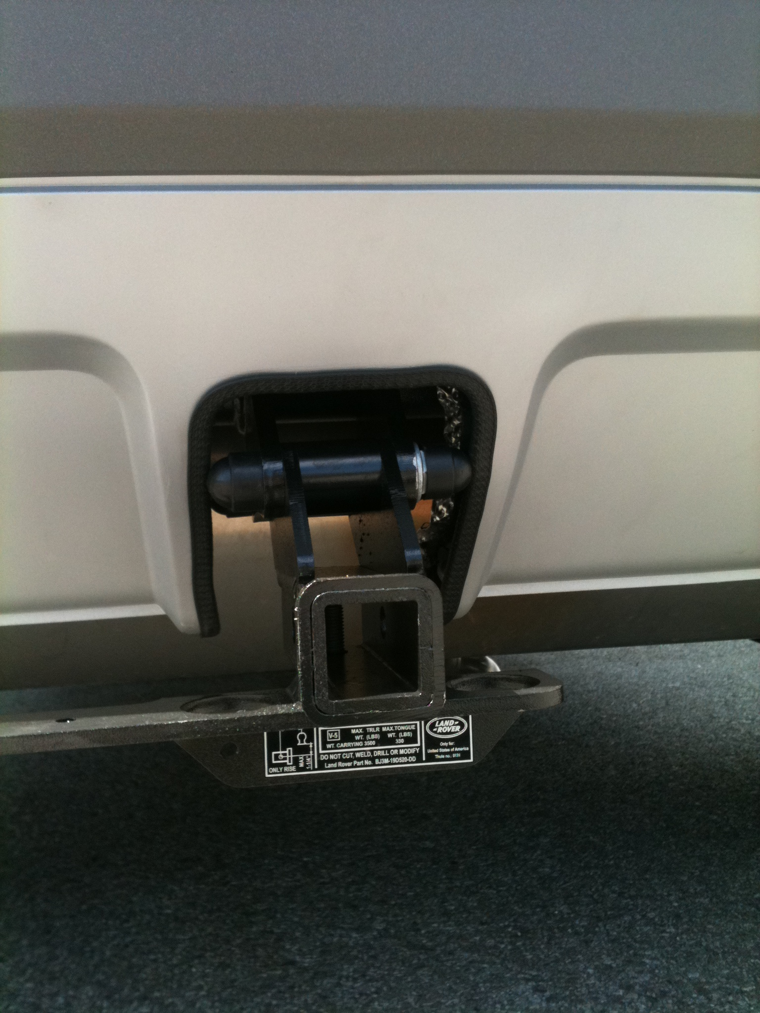 Installing Towing Package For Our Evoque Page 2