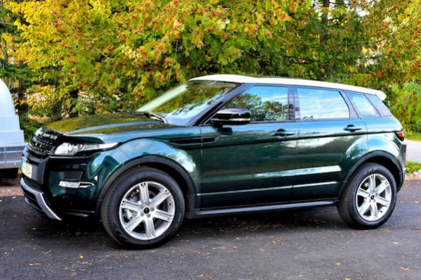 2012 range rover evoque first impressions. Black Bedroom Furniture Sets. Home Design Ideas