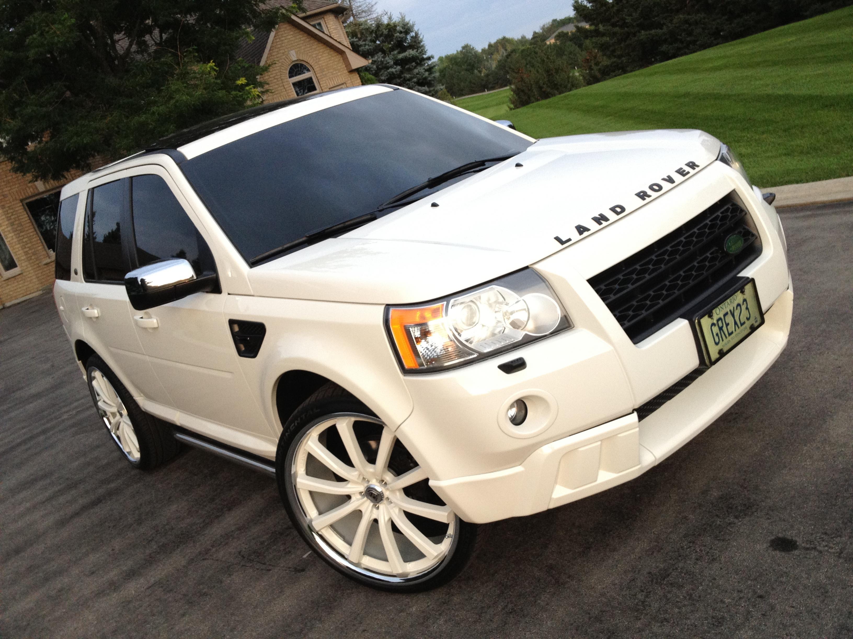 Range Rover Evoke >> 24 Inch Lexani CVX-55 Rims with Continental DWS EC Tires - FOR SALE