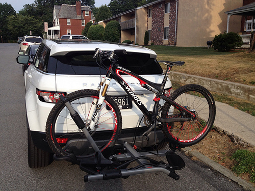Tow Hitch Bike Rack >> How To Turn Off Parking Aid Have Hitch Bike Rack Now